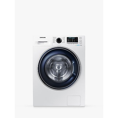 "Samsung WW80J5555FW ecobubbleâ""¢ Freestanding Washing Machine, 8kg Load, A+++ Energy Rating, 1400rpm Spin, White"
