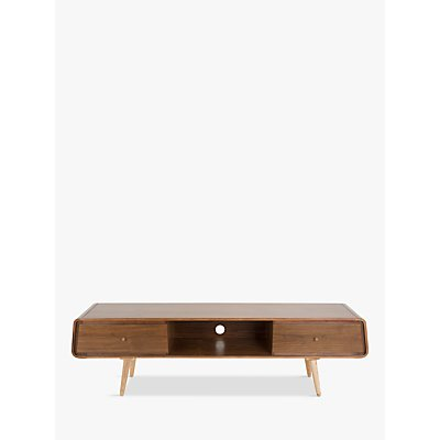 AVF Deco 1800 TV Stand for TVs up to 85, Walnut