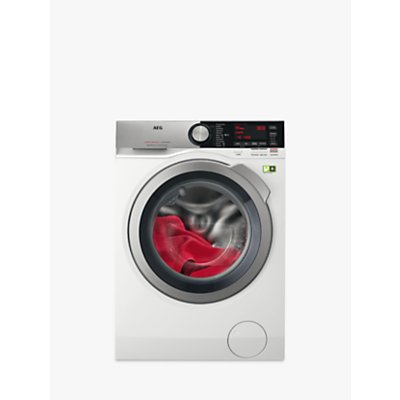 AEG ProSteam Technology L9FEC946R Freestanding Washing Machine, 9kg Load, A+++ Energy Rating, 1400rpm Spin, White