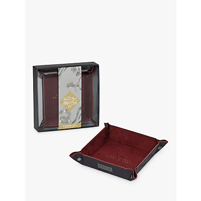 Ted Baker Blue Accessory Tray - 5055923735688