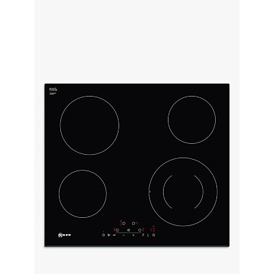 NEFF T16FD56X0 Electric Ceramic Hob   Black  Black - 4242004211723