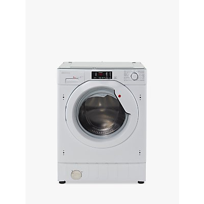 Hoover HBWM814D Integrated Washing Machine, 8kg Load, A+++ Energy Rating, 1400rpm Spin, White