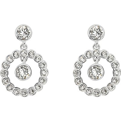 Ted Baker Corali Concentric Swarovski Crystal Drop Earrings - 5055336355299