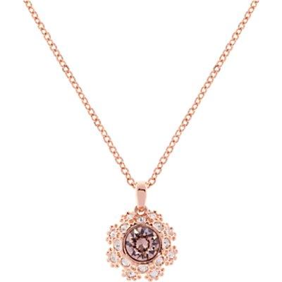 Ted Baker Sirou Swarovski Crystal Daisy Lace Pendant Necklace - 5055336356227
