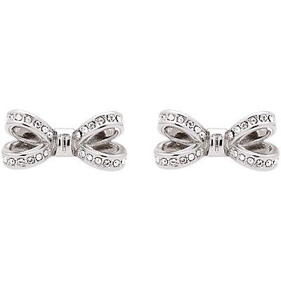 Ted Baker Olitta Mini Pave Swarovski Crystal Bow Stud Earrings - 5055336355831