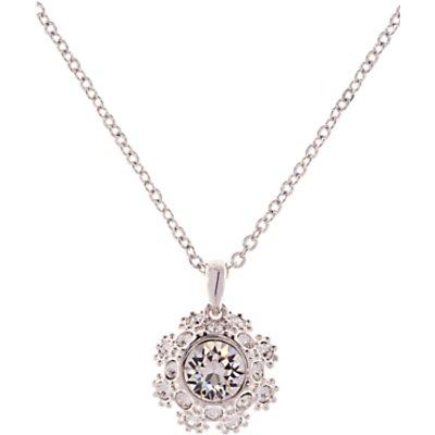 Ted Baker Sirou Swarovski Crystal Daisy Lace Pendant Necklace - 5055336356197