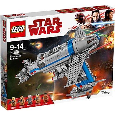LEGO Star Wars The Last Jedi 75188 Resistance Bomber