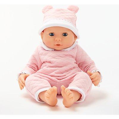 John Lewis & Partners Newborn Baby Doll, Pink