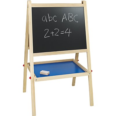 John Lewis & Partners Chalkboard and Easel