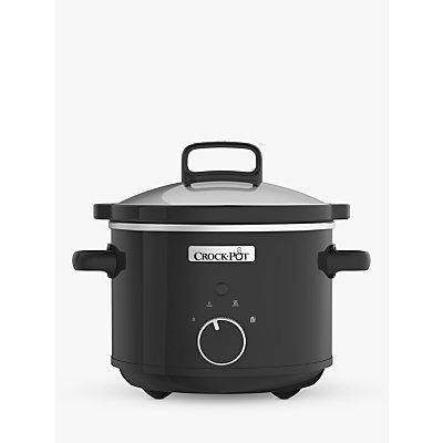 Crock-Pot CSC046 Slow Cooker, Black