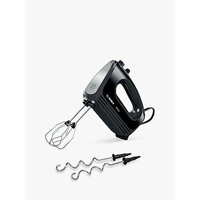 Bosch MFQ2420BGB CleverMixx Hand Mixer, Black