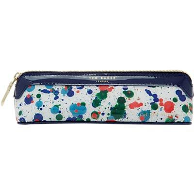 Ted Baker Paint splash pencil case Ivory - 5054787668835