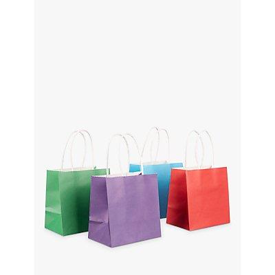 John Lewis Bright Mini Gift Bags  Pack of 4 - 23507333