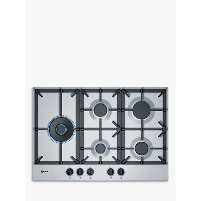 Neff T27DS79N0 Gas Hob  Stainless Steel - 4242004203520