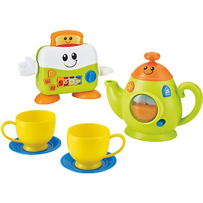 John Lewis & Partners Toast & Fun Tea Set