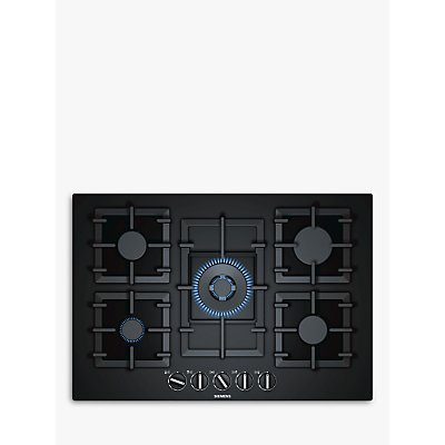 Siemens EP7A6QB90 StepFlame Gas Hob  Black - 4242003742549
