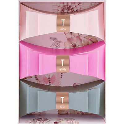Ted Baker Sweet Treat Mini Bow Trio Gift Set - 5060412677387
