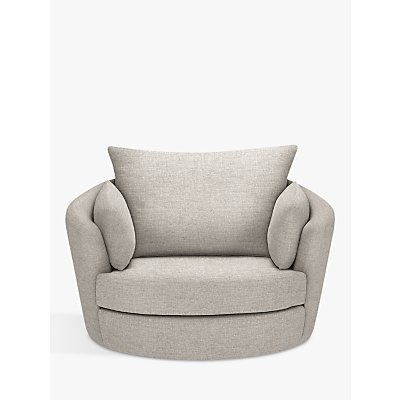 John Lewis Antonio Swivel Chair, Riley Storm