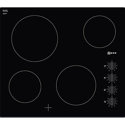 Neff T16FK40X0 Built In Induction Hob in Black - 4242004206750