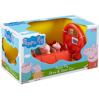 Peppa Pig Drive And Steer Car Toy