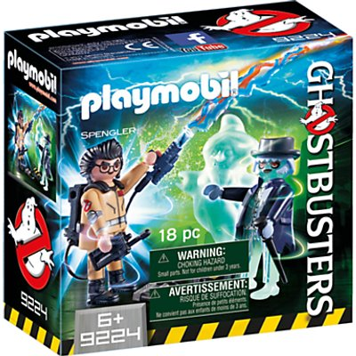 Playmobil Ghostbusters Spengler and Ghost Play Set