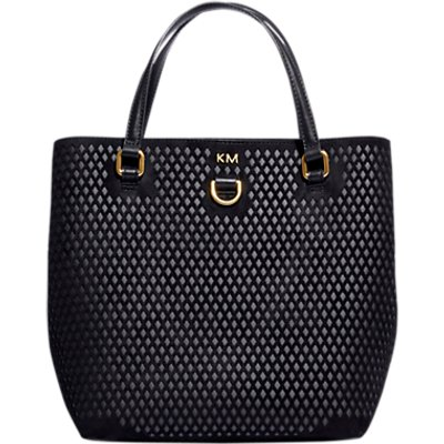 Karen Millen Diamond Mini Cut Out Bag - 5054236211230
