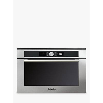 Hotpoint MD 454 IX H Microwave Oven, Stainless Steel