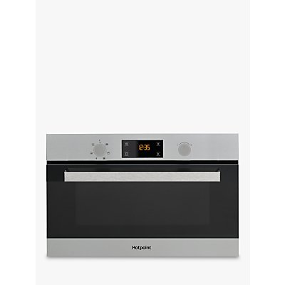 Hotpoint MD 344 IX H Microwave with Grill, Stainless Steel