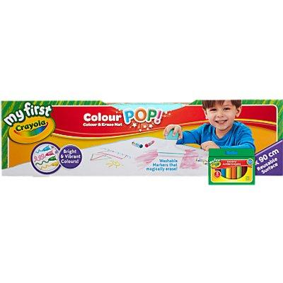 Crayola Color Pop Draw & Erase Mat