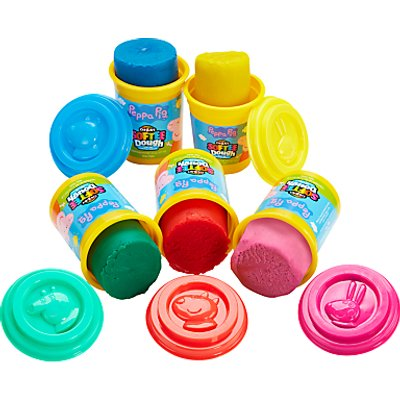 Peppa Pig Dough, Pack of 5, Assorted Styles/Colour