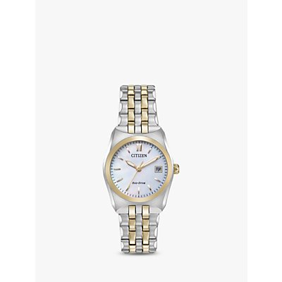 Citizen Women s Eco Drive Date Bracelet Strap Watch - 4974374272393