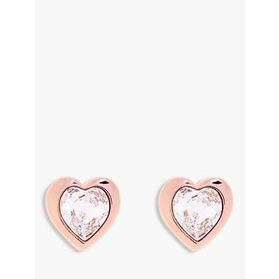 Ted Baker Hanella Swarovski Crystal Heart Stud Earrings - 5055336357712