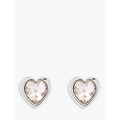 Ted Baker Hanella Swarovski Crystal Heart Stud Earrings - 5055336357705