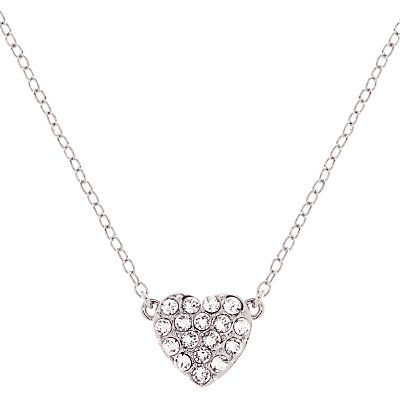 Ted Baker Pippa Pave Crystal Heart Pendant Necklace - 5055336357576