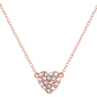 Ted Baker Pippa Pave Crystal Heart Pendant Necklace - 5055336357590