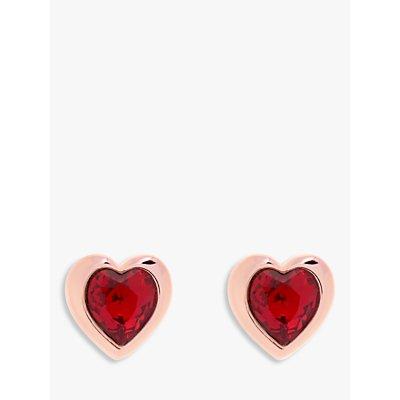 Ted Baker Hanella Swarovski Crystal Heart Stud Earrings - 5055336357729