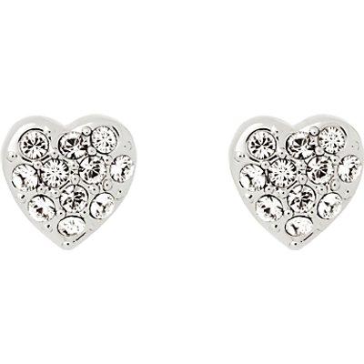 Ted Baker Pave Crystal Heart Stud Earrings - 5055336357606