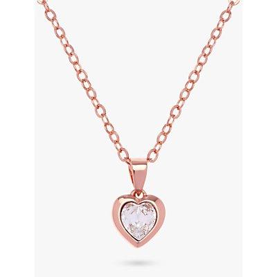 Ted Baker Hannela Swarovski Crystal Heart Necklace - 5055336357989