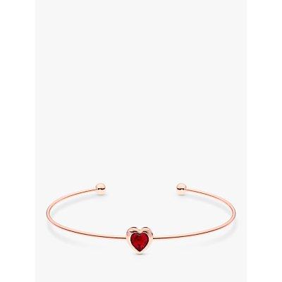 Ted Baker Hasina Crystal Heart Cuff - 5055336358030
