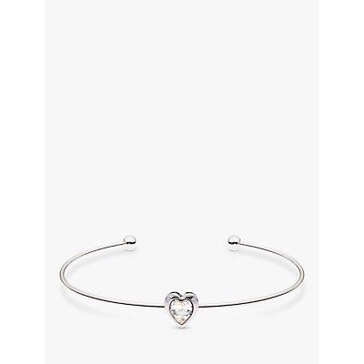 Ted Baker Hasina Crystal Heart Cuff - 5055336358016
