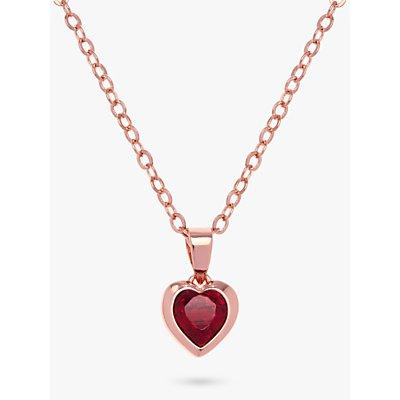 Ted Baker Hannela Swarovski Crystal Heart Necklace - 5055336357996