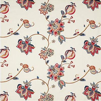 John Lewis Zephora Furnishing Fabric  Red - 23892002