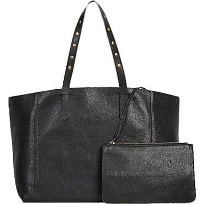 Gerard Darel Leather Studded Tote Bag