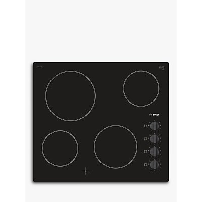 Bosch Serie 2 PKE611CA1E Built in Ceramic Hob Black - 4242002936406