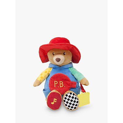 Paddington Bear Activity Soft Toy