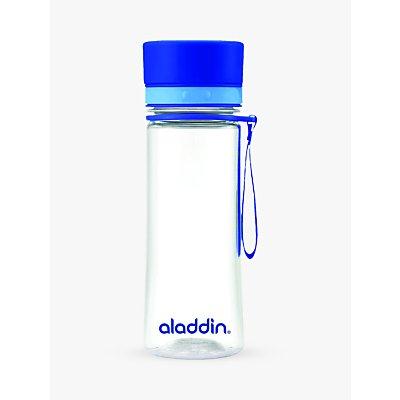 Aladdin Aveo Water Bottle, 350ml, Blue/Clear