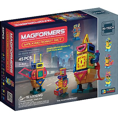 Magformers Hi-Tech Walking Robot Set