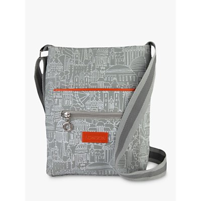 Sketch London Cross Body Bag, Grey