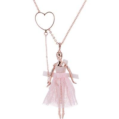 Ted Baker Bevlee Balloon Ballerina Pendant Necklace  Rose Gold - 5055336358719