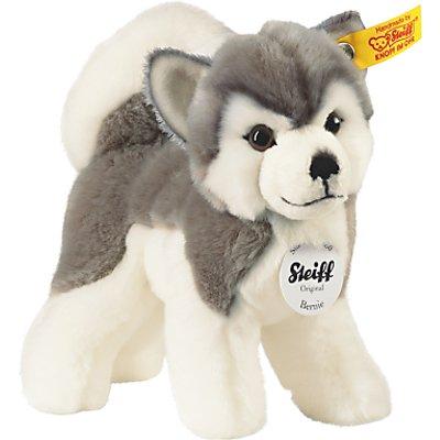 Steiff Bernie Husky Plush Soft Toy